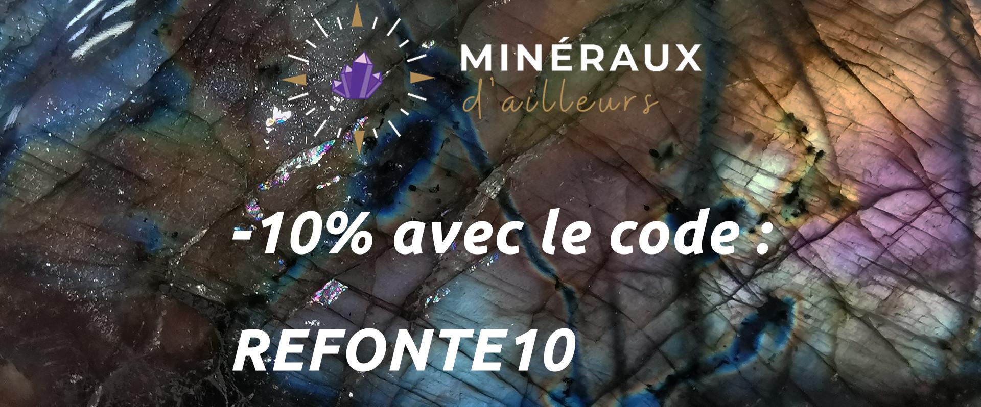 Code promo , -10% avec le code : REFONTE10